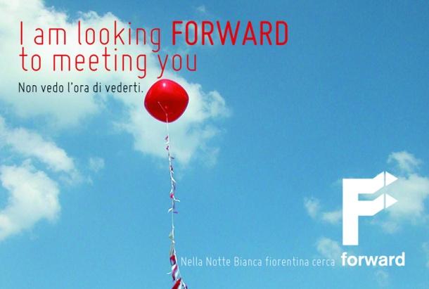 Puoi sostenerlo? Forward nella Notte Bianca 2013