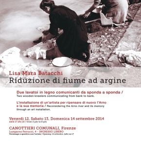 Reconsidering the Arno river and its memory through an art installation #estatefiorentina