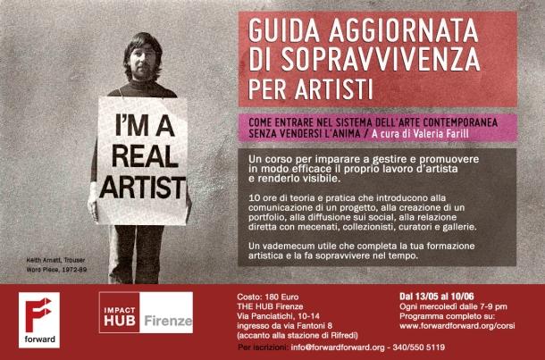 The Hub Guida Sopravvivenza Forward maggio ARTE 2015