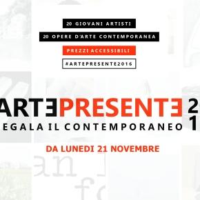 Da lunedì 21 novembre ritorna #ArtePresente. Un catalogo di opere contemporanee a prezziaccessibili