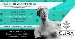 Un corso di 40 ore dedicato agli artisti e alla loro professione. Ecco Project Development Lab aFirenze